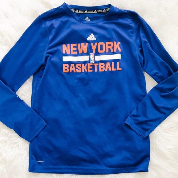 New York Knicks 🦩 Basketball Adidas ClimaLite